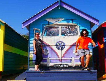Le case sulla spiaggia di Brighton - Melbourne
