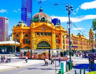 Flinders Street Station - Melbourne