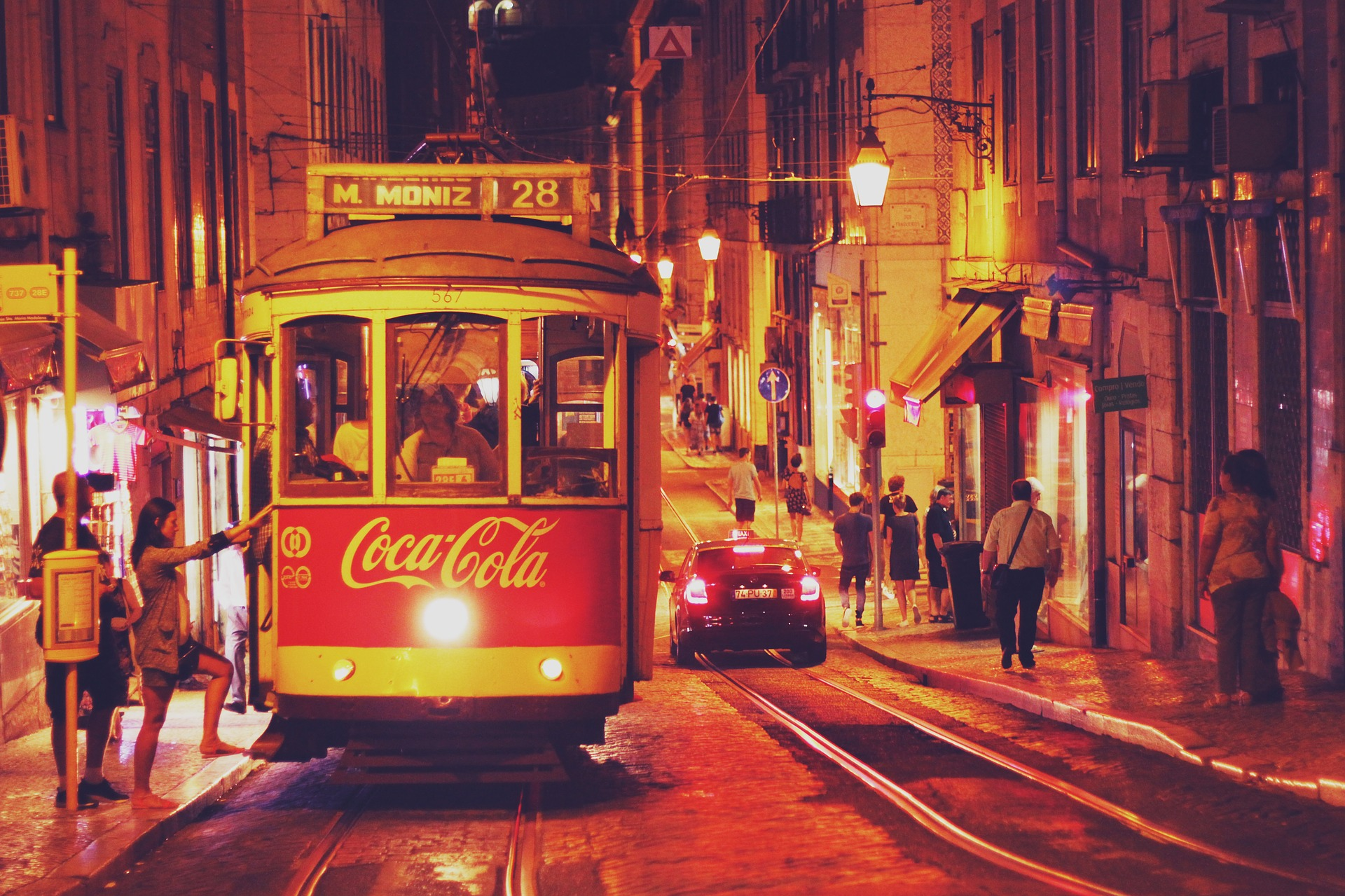 Paesi più sicuri al mondo Portogallo Lisbona strada
